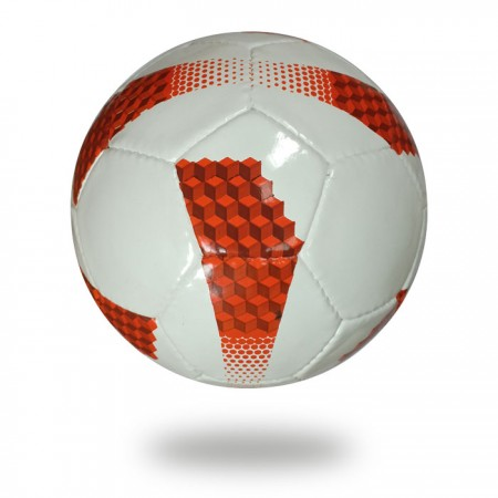 Vite | white and red football in 32 panels