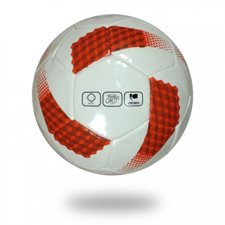 Vite |football in white and red color official size 5