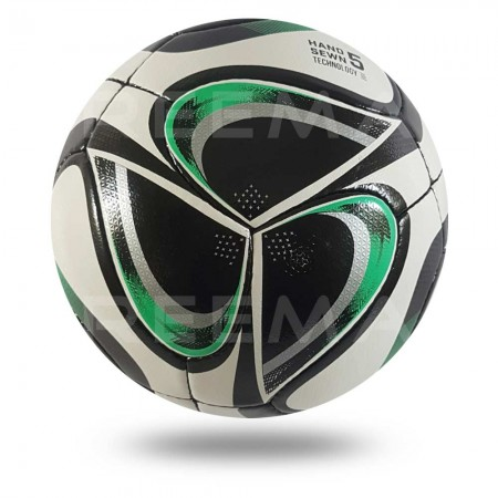 Volos 2020 |  24 panels soccer ball with hand stitched size 5 light sea green