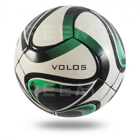 Volos 2020    white PU  light sea green Match football