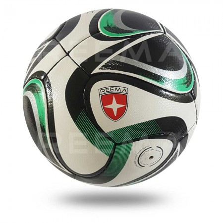 Volos 2020 |  the upper sheet of soccer ball is white and printed with light sea green