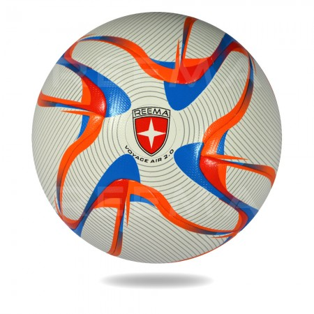 Voyag Air 2020 | 12 panels football witch cover is white and printed with black circles