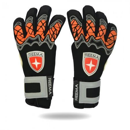 Wonder Shield | shine red ans black hand glove 13 year women club