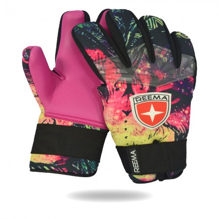 Wrilwind | amazing glove for player black yellow pink green goalkeeper