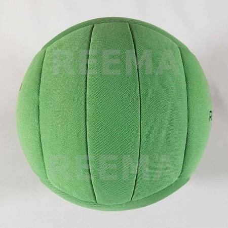 Canadian Dodge ball federation | Machine stitched dodge-ball light green with customized design