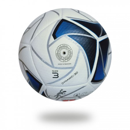 Dynamic 3D | Navy blue and white handball size 3 for clubs