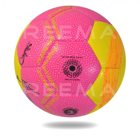 Easy Grip 2020 (TPU FILM)| Size 3 hand stitched Hand ball Business and Hot Pink