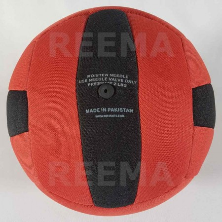 European Dodge ball federation | 14 panels red and black dodge-ball for youth