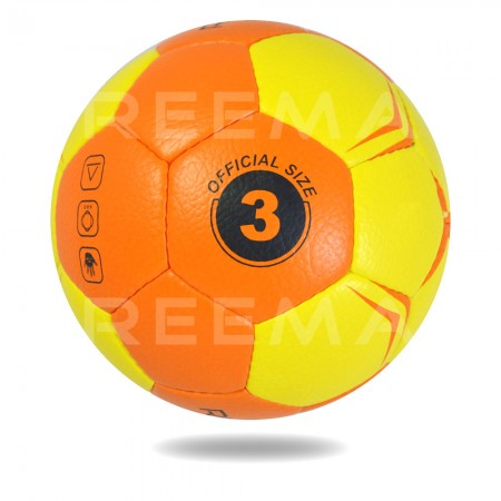 Flash 2020  | Yellow and orange printed Hand ball