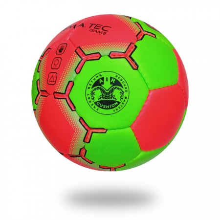 Game | hand stitched green and red customized hand ball
