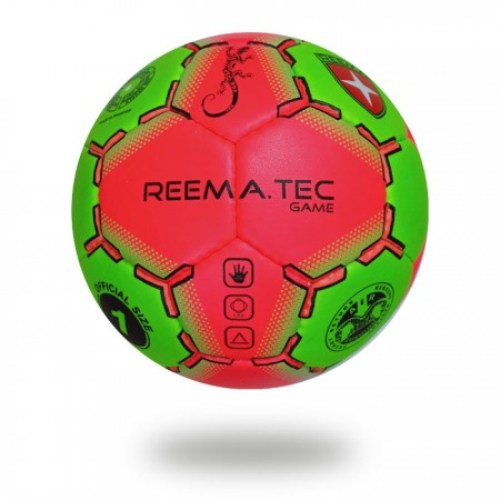 Game | handball made with PU material Green and Red