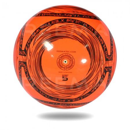 Lite 350 | 32 panels size 4 orange-red black circles football