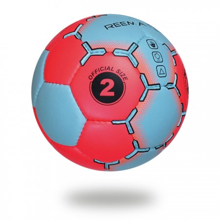 Game   Outdoor Hand ball for men size 3 Pink cyan