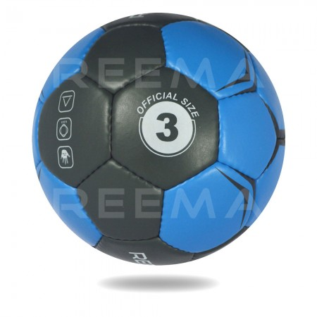 Supreme Grip 2020 | Main cover is Black and blue printed Hand ball
