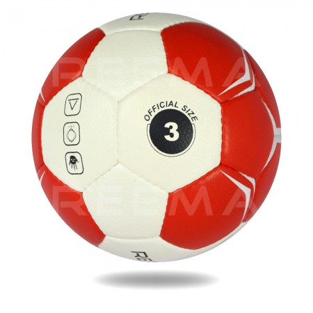 Supreme Grip 2020| Floral white and Tomato match Hand ball