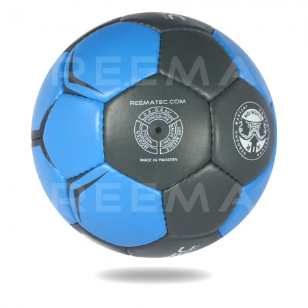 Supreme Grip 2020 | Black and Blue Hand ball front of white background