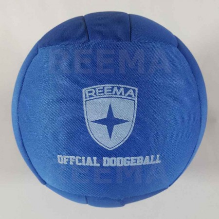 World Dodge ball federation | 14 panels royal Blue dodgeball for youth