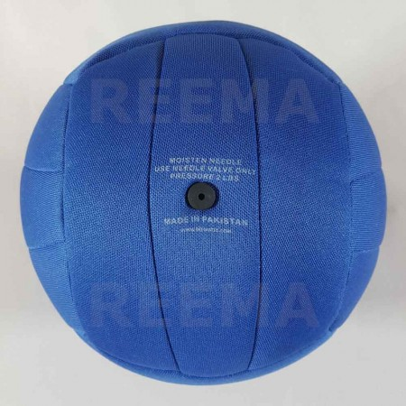 World Dodge ball federation | 14 panels royal Blue dodge-ball for youth