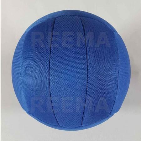 World Dodge ball federation | Machine stitched dodge-ball royal Blue with customized design