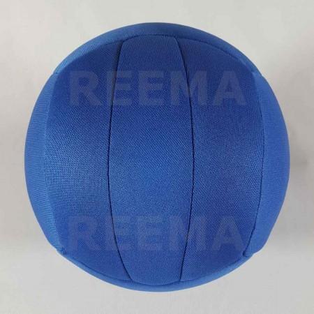 World Dodge ball federation | Machine stitched dodgeball royal Blue with customized design