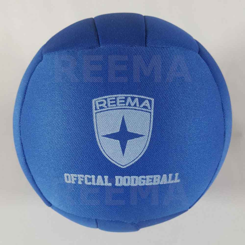 World Dodge ball federation | A dodgeball made with cloth color royal Blue